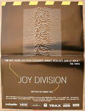 JOY DIVISION Affiche Cinéma / Movie Poster Grant Gee & Ian Curtis
