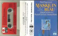 z MC Kassette Fred Raymond / Maske in Blau / Margit Schramm, Rudolf Schock, Rökk
