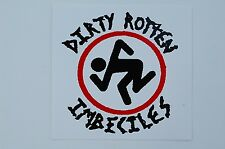 DRI Dirty Rotten Imbeciles Sticker Decal (S189) Punk Thrash Rock Car Window