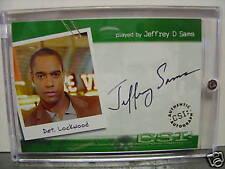 CSI LAS VEGAS Season 1 JEFFREY D SAMS Auto CSI-A12