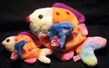 Ty * Lips (Fish) * Beanie Baby and Beanie Buddy Set