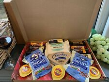 Cheese Variety Letterbox Hamper with crackers and pretzels  Selection box 2/4/21