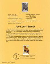 #9320 29c Joe Louis Stamp #2766 USPS USPS Souvenir Page
