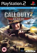 PlayStation2 : Call of Duty 2: The Big Red One (PS2) VideoGames