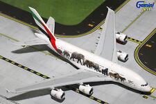 """Gemini Jets Emirates Airbus A380-800 """"Wildlife #3"""" 1/400 GJUAE1594"""