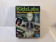 Kidzlabs Glow In The Dark Human Skeleton t5437