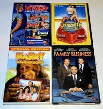 Everything Ernest, Corvette Summer, Harry And The Hendersons & Family Business