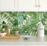 NuWallpaper by Brewster NU2906 Maui Green Peel & Stick Wallpaper Free Shipping