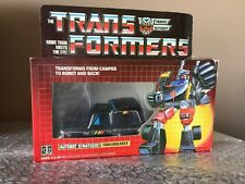 Vintage 1984 G1 TRAILBREAKER Hasbro Transformers toy Autobot 100% Complete Look