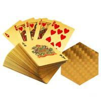 Carte da gioco Placcato 24k Disegno Geometrico Pieno Poker Regalo Ponte