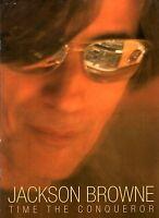 JACKSON BROWNE 2009 TIME THE CONQUEROR TOUR CONCERT PROGRAM BOOK / NM 2 MINT