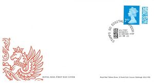 2021 M21L MBIL BARCODED 2nd FIRST DAY COVER - STAMPS GO DIGITAL SWINDON 23.03.21