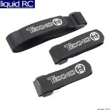 Tekno RC TKR40008K Tekno R/C Battery Straps 2S Packs SCT410