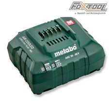 Metabo Ladegerät ASC30-36V Schnellladegerät [f. Akku 14,4 18 36 Volt 1,3-7,0 Ah]