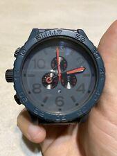 Nixon 51-30 GUNSHIP Chronograph A083595 Wrist Watch for Men