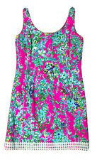 Lilly Pulitzer Southern Charm Eaton Dress 6 Pop Pink Holy Grail