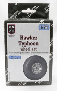 Hawker Typhoon Halberd Models wheels set for Airfix 1/24 kits