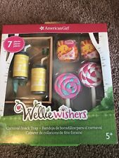 american girl wellie wisher Carnival Snack Tray New In Package Cute Fun Set