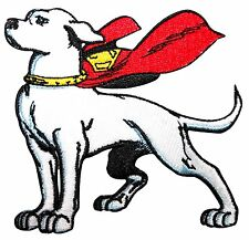 Patch - DC Comic - Superman - Krypto Super Dog Iron On Gifts Toys New p-dc-0050