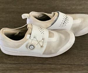 SHIMANO SH-IC500W Womens Cycling Shoes EU 43 US 10.5 White Biking Spin FREE SHIP