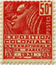 "FRANCE STAMP TIMBRE N° 272 "" EXPOSITION COLONIALE PARIS 50 C ROUGE "" NEUF x TB"