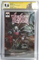 CGC 9.6 SS Venom #5 Signed Cates & Stegman 2x Sig 1st Knull Cover Custom Label