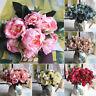 Vintage Strauß aus Rose Dekoration der Partei Künstliche Blumen Silk Peony