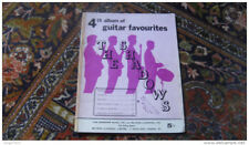 THE SHADOWS guitare partition album guitar 4 song sheet music book Hank Marvin