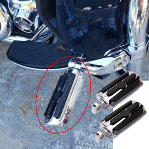 Highway Foot Pegs Pads For Harley Ultra Limited Heritage Softail Road King Glide