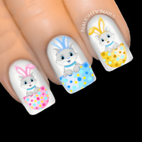 EASTER KITTEN Nail Water Transfer Decal Sticker Art Slider
