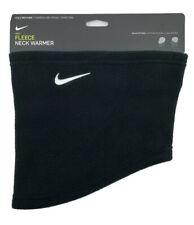Nike Fleece Neck Warmer Cold Weather Face Mask Gaiter One Size Black Unisex
