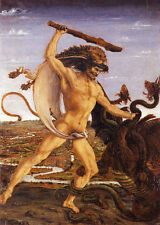 Hercules and the Hydra and Hercules and Anteo Antonio Pollaiuolo Gott B A3 00652