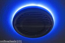 "10"" LED Speaker Ring for Clarion Audio Marine Subwoofer - Pre Drilled"