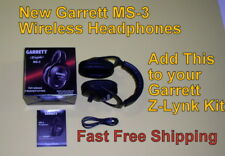 Garrett Ms-3 Wireless Headphones Use with your Z-Lynk kit for Metal Detector