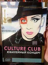 CULTURE CLUB - BOY GEORGE - 20 YEAR ANNIVERSARY RARE DVD RUSSIAN IMPORT RUSSIA