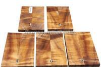 KOA WOOD #1262 Knife Scale, Tool Handle, Wood Carving, Crafts Wood(1pair)