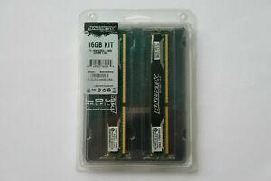 16GB (4x4GB) Crucial Ballistix Sport LP DDR3 Memory 1600MHz CL9 PC3-12800 1.35V