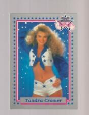 1992 Enor Dallas Cowboys Cheerleaders #13 Tandra Cromer card