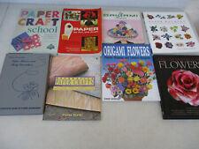 Papercraft Origami Flowers Book Lot Display Centerpiece Arts & Crafts