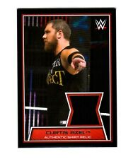 WWE Curtis Axel 2014 Topps Road To WrestleMania Event Used Shirt Relic Card Blac