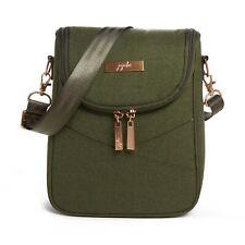 NWT Jujube Chromatics Olive Green Be Cool Insulated Lunch Bag Ju-ju-be