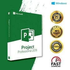 Microsoft Project Professional 2019 Genuine License Fast delivery