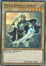 EXFO-ENSE1 Mekk-Knight Avram | Super Rare Card | Limited Edition Yu-Gi-Oh! TCG