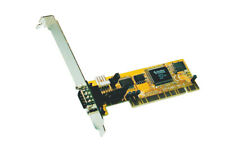 EXSYS EX-41051 1 x RS-232 (DS9) PCI Card  32 Bit / POWERED RS232 for POS | BULK