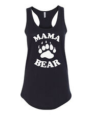 Tank Top Mama Bear Shirt T-Shirt For Mom Birthday Bday Gift Tee Mother Mommy