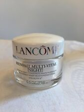 Lancome Bienfait Multi - Vital  Night Moisturizing Cream 0.5oz