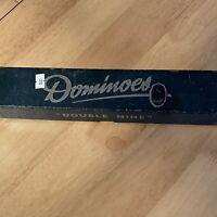 Vintage Dominoes Double Nine by Good-Win in Original Box