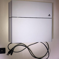 Sony PlayStation 4 PS4 CUH-1100AB02 500GB Glacier White Console Excellent!!