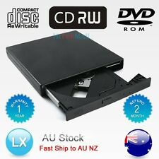 AU USB 2.0 External IDE DVD ROM CD±RW Burner Writer Drive Portable For Mac Win7