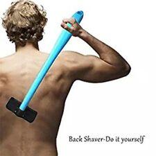 Manual Back Hair Shaver Plastic Long Handle Pain-Free Hair Remover Razor SY